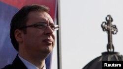 Zv/kryeministri serb, Aleksandar Vuçiq.
