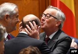 """""""Wäşi"""" Juncker iňlisleri """"gorkuzdy"""""""