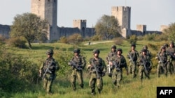 Sweden stationed permanent troops on Gotland island in the Baltic Sea in September following increased Russian military activities in the area.