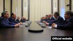Встреча уволенных глав регионов с президентом России, 2 ноября 2017 года