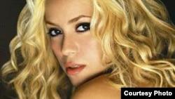 Певица Шакира.