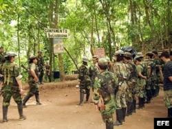 Тренировочный лагерь FARC в сельве