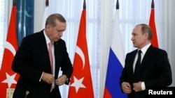 R.T.Erdoğan və V.Putin