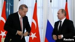 ABŞ politoloqları deyirlər ki, Erdoğan Putinlə Vaşinqtona acıq vermək üçün görüşüb