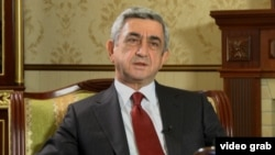 Armenian President Serzh Sarkisian is running again