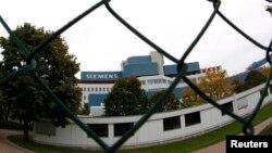 Офис Siemens AG в Мюнхене, 30 сентября 2013 года. Иллюстрационное фото