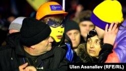 Protestues antiqeveritarë në Kiev
