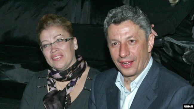 Юрій Бойко з дружиною Вірою у 2011 році