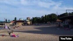 Городской пляж Махачкалы