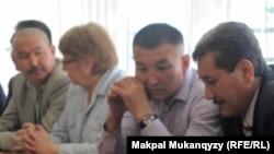 """""""Сопылар ісіндегі"""" адвокаттар. Алматы, 27 сәуір 2012 жыл."""