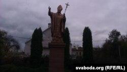 Помнік Яну Паўлу ІІ у Магілёве