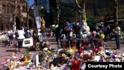 Բոստոնի փողոցները ահաբեկչությունից հետո, 1-ը մայիսի, 2013թ.