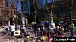 Улица Бостона после террактов