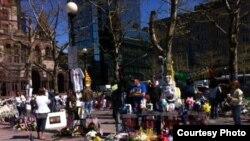 Улицы Бостона после теракта на марафоне