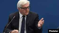 Міністр закордонних справ Німеччини Франк-Вальтер Штайнмаєр