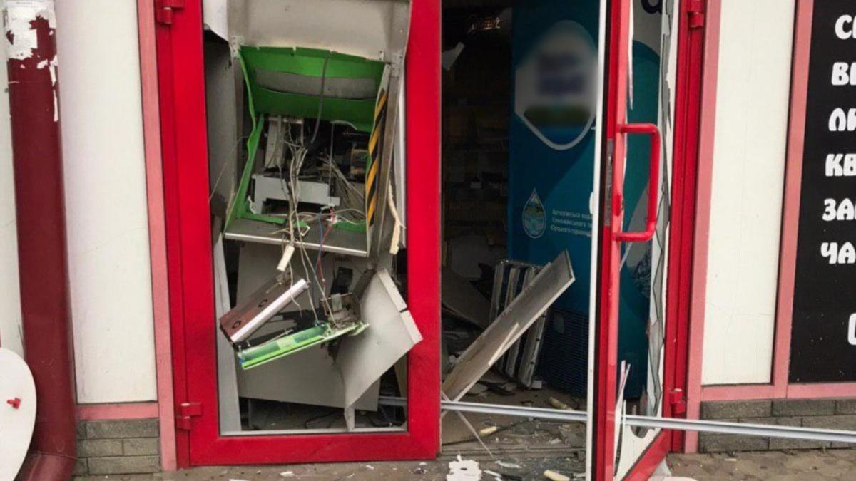 В Харькове взорвали банкомат – полиция