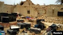 Урната куќа по земјотресот во Балучистан