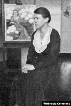 Milada Marešova Portret 1930, Praga