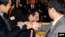 US ambassador to South Korea Mark Lippert.