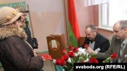 Belarusda prezident saýlawlary geçirilýär