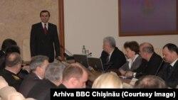 La 19 martie 2008, premierul Vasile Tarlev a anunţat că demisionează