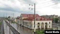 Железнодорожный вокзал города Канаш