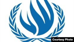 World -- UN Human Rights Council logo, undated