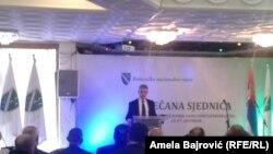 Sulejman Ugljanin na svečanoj sednici Bošnjačkog nacionalnog veća