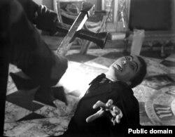 """Кадр из кинофильма """"Дракула"""", 1958 год"""