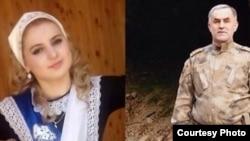 Луиза (Хеда) Гойлабиева и Нажуд Гучигов