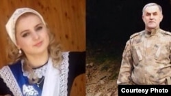 Нужуд Гучиго и 17-летняя Хеда Гойлабиева