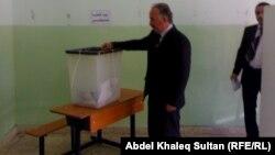 مركز إنتخابي في دهوك