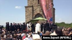 Gazimestan - Pelegrinët duke festuar Vidovdanin, 28Qershor2013