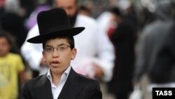 На массовом паломничестве в Умань на празднование Нового года по еврейскому календарю.