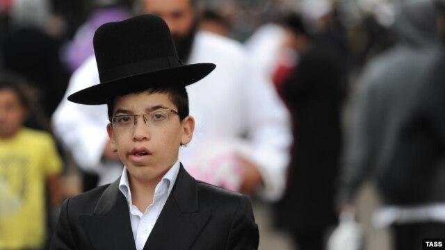 Hasidic Jews celebrate the traditional Jewish New Year in Uman, Ukraine.