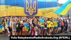 Відзначення Дня Незалежності України у Дніпропетровську, 24 серпня 2014 року
