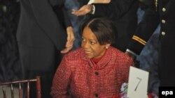 Мишел Обаманың анасы Мариан Робинсон. Вашингтон, 20 қаңтар, 2009 жыл.