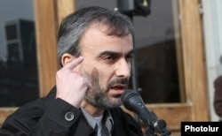 Opposition leader Zhirayr Sefilian