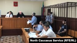 Избрание меры пресечения журналисту Абдулмумину Гаджиеву