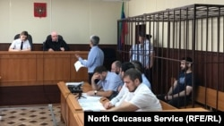 Избрание меры пресечения Абдулмумину Гаджиеву. Махачкала, 16 июня 2019 г.