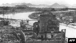 Xirosima bombalanmadan sonra. Sentyabr 1945