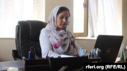 عارفه نوید رئیس کمیسیون حقوق بشر در ولایت بدخشان