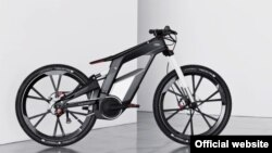 Audijev električni bicikl, foto: Audi