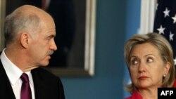 Папандреу и Клинтон