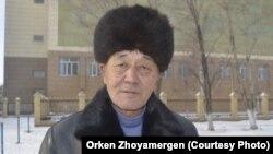 Житель Экибастуза Жумагельды Касенов. 21 ноября 2012 года.