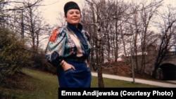 Емма Андієвська, квітень 1986 року
