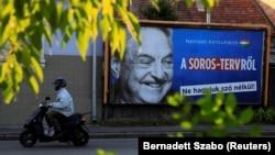 Vladin bilbord protiv Sorosa tokom nedavne izborne kampanje