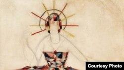 """Ф.Федоровский. Эскиз костюма к балету """"Лебединое озеро"""" П.И.Чайковского. ГАБТ, Москва, 1921 год"""