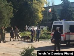 После взрыва в керченском Политехническом колледже, 17 октября 2018 года