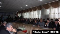 Заседание Группы содействия в Душанбе